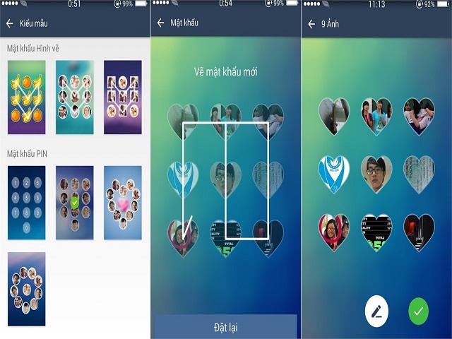 DIY Locker đa dạng mẫu màn hình khóa Android