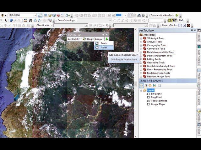 Ứng dụng ArcGIS phân tích không gian