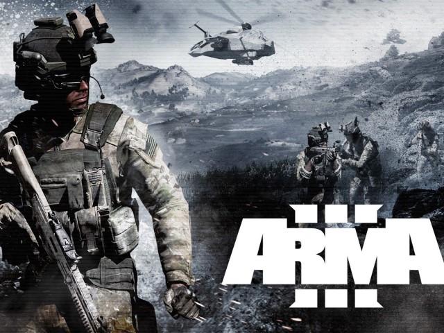 Arma 3 game chiến thuật, bắn súng góc nhìn thứ nhất và thế giới mở