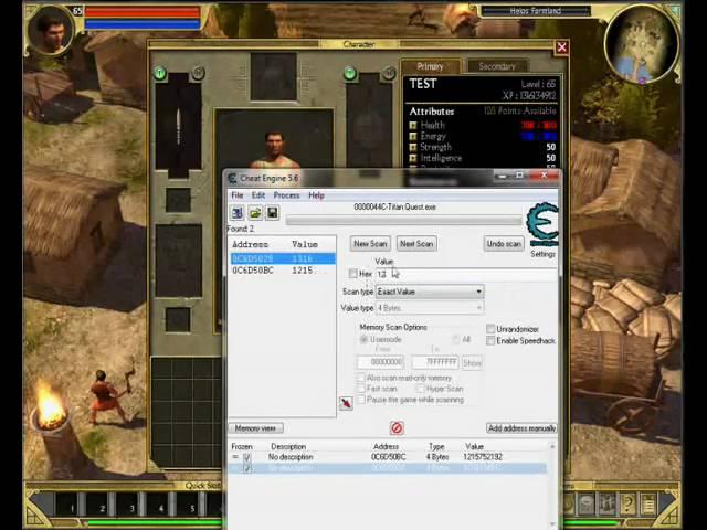 Phần mềm Cheat Engine để hack game