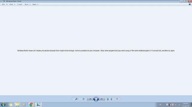 Thông báo không mở được ảnh bằng Windows Photo Viewer