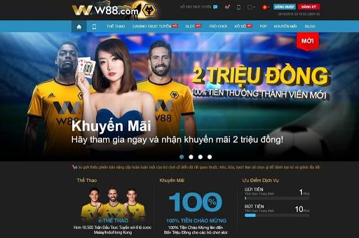 W88- Nhà cái cá độ bóng đá online đẳng cấp